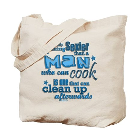 Cooking is Sexy Tote Bag