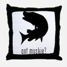 Muskie Throw Pillow