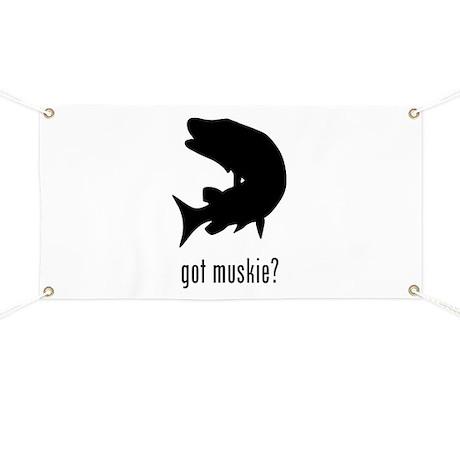 Muskie Banner