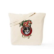 Christmas - Deck the Halls - Corgis Tote Bag
