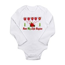 Life Begins At Fifty Long Sleeve Infant Bodysuit