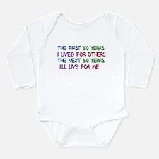 50th Birthday Freedom Stateme Long Sleeve Infant B