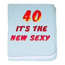 40th Birthday Infant Blanket