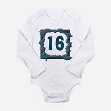 16th Birthday T-Shirts Long Sleeve Infant Bodysuit