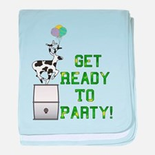 Ready To Party Infant Blanket