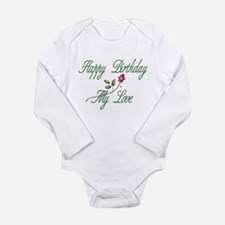 Lover Birthday Long Sleeve Infant Bodysuit