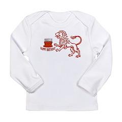 July August Leo Birthday Long Sleeve Infant T-Shir