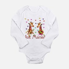 Wedding Giraffes Onesie Romper Suit
