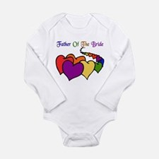 Father Of The Bride Long Sleeve Infant Bodysuit