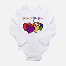 Mother Of The Bride Long Sleeve Infant Bodysuit