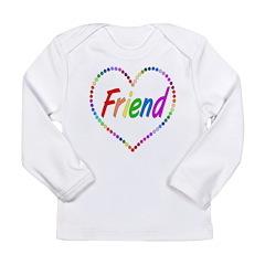 Rainbow Friend Long Sleeve Infant T-Shirt