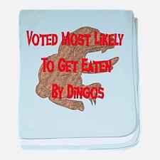 Eaten By Dingos Infant Blanket