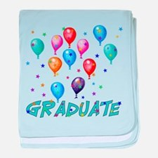 Graduation Balloons Infant Blanket