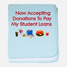 Student Loan Donations Infant Blanket