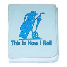 Golfing Dad Infant Blanket