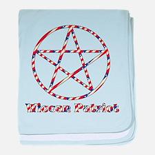 Wiccan Patriot Infant Blanket