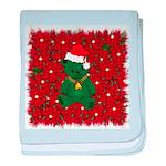 Christmas Bear Infant Blanket