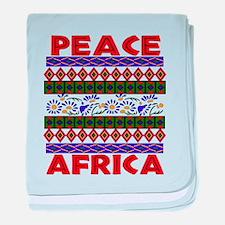 Africa Peace Infant Blanket
