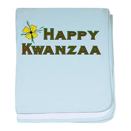 Happy Kwanzaa Infant Blanket