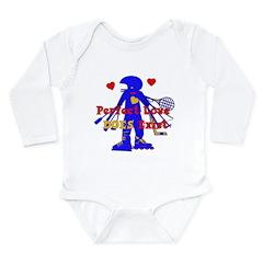 Perfect Love Long Sleeve Infant Bodysuit