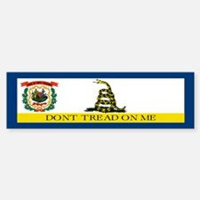 Dont Tread on Me West Virgini Sticker (Bumper)