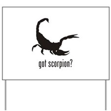 Scorpion Yard Sign