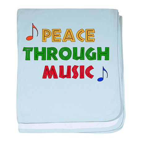 Peace Through Music Infant Blanket