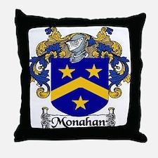 Monahan Coat of Arms Throw Pillow