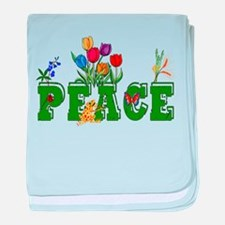 Peace Garden Infant Blanket