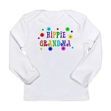 Hippie Grandma Long Sleeve Infant T-Shirt