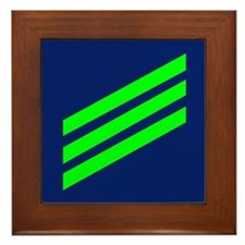Coast Guard Airman Framed Tile