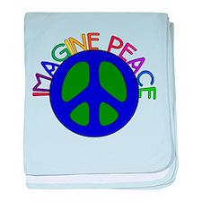 Imagine Peace Infant Blanket