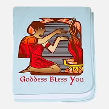Goddess Bless You Infant Blanket