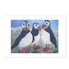 Puffins Postcards (Package of 8)