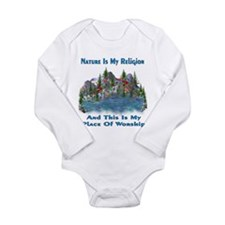 Nature Is My Religion Long Sleeve Infant Bodysuit