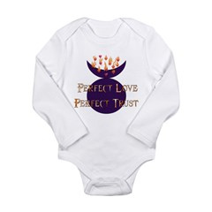 Perfect Love Perfect Trust Long Sleeve Infant Body
