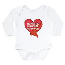 Violence Survivor Long Sleeve Infant Bodysuit