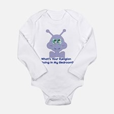 Bedroom Invaders Long Sleeve Infant Bodysuit