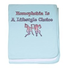 Homophobia Lifestyle Choice Infant Blanket