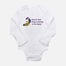 Friends Of Dorothy Long Sleeve Infant Bodysuit