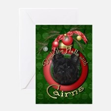 Christmas - Deck the Halls - Cairns Greeting Card