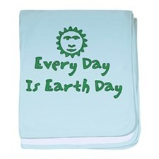 Every Day Is Earth Day Infant Blanket