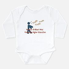 Wasted Education Long Sleeve Infant Bodysuit