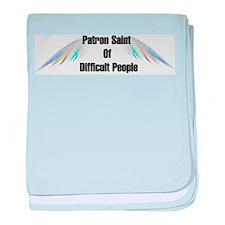 Patron Saint Difficult People Infant Blanket