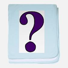 Question Mark Infant Blanket