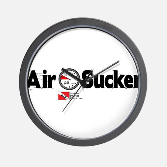 Air Sucker Wall Clock
