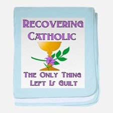 Recovering Catholic Infant Blanket