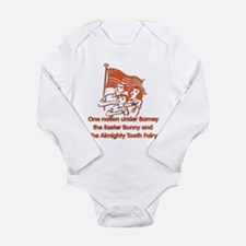 Atheist Pledge Long Sleeve Infant Bodysuit