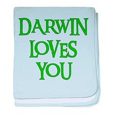 Darwin Loves You Infant Blanket