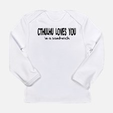 Cthulhu Loves You Long Sleeve Infant T-Shirt